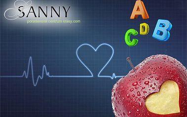 Meranie stavby tela a ochutnávka vitamínov v Sanny centre len za 1 €! Nechajte svoje telo zanalyzovať a urobte niečo pre svoje zdravie!