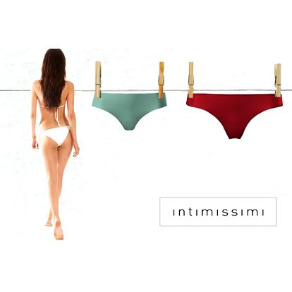 NOVÉ TIPY V PONUKE! Exkluzívne dámske nohavičky INTIMISSIMI len za 3,50 €! Spodné prádlo v najmodernejších strihoch, príjemných materiáloch, v ktorom sa budete cítiť sexi a pohodlne!