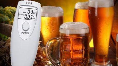 Alkoholtester s displejem jen za 189 Kč!