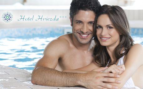 3 alebo 5-dňový pobyt pre 2 osoby s polpenziou, masážami, saunou, vírivkou a neobmedzeným vstupom do bazéna v hoteli Hviezda*** v kúpeľnom meste Dudince so zľavou 60%!