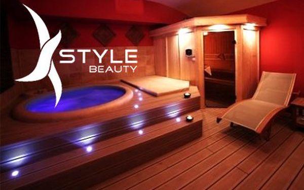 Soukromá vířivka a sauna pro 2–4 osoby