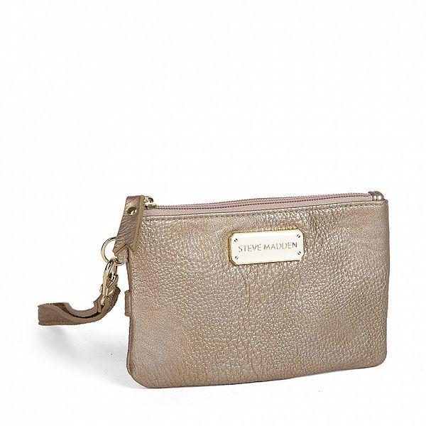 Dámska zlatá peňaženka Steve Madden