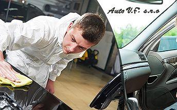 Ručné umytie interiéru a exteriéru auta