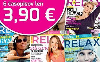 Len 3,90 € za ročné predplatné lifestylového rodinného magazínu určený všetkým, ktorý záleží na aktívnom a zdravom spôsobe života! V cene aj poštovné a doručenie!