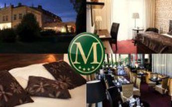 3 denní relaxační pobyt v Parkhotel Morris Nový Bor pro 2 osoby s návštěvou sklárny Ajeto