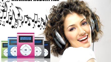 Len 9,99 € za MP3 prehrávač s displejom v 3 farebných prevedeniach! Skvelý pomocník pre cestovateľov či športovcov, ktorí chcú mať svoju hudbu stále po ruke!