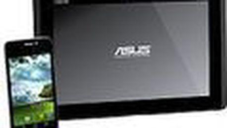 Chytrý telefon ASUS PadFone. Velký displej 4.3 palce, 2 jádrový procesor 1,5 Ghz. Grafický procesor Adreno 225.