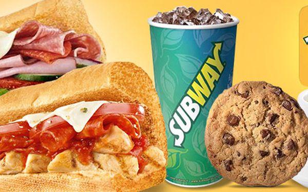 Sendviče a další dobroty ze Subway