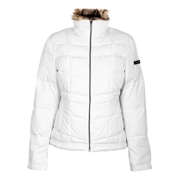 Dámská bílá péřová bunda Northland