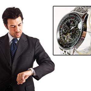 Luxusní hodinky Winner Tourbillon!