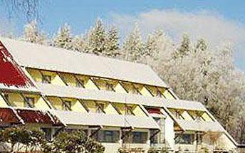 2632 Kč za pobyt na 5 dnů (4 noci) pro 2 osoby s polopenzí v hotelu Harmonie na Vysočině!