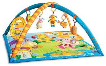 Hrací deka s hrazdou, hudební dotekovou podložkou a množstvím různorodých aktivit. Tiny Love Gymini®