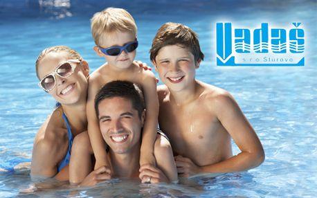 4-dňový pobyt pre 2 osoby v apartmánoch na Vadaši! Celodenné vstupy do všetkých bazénov, cvičenie pod holým nebom a pobyt pre dieťa do 6 rokov ZDARMA!