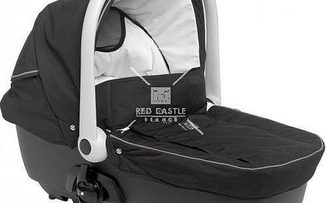 Prostorná a pohodlná korba na kočárek pro novorozence. Připevní se snadno s pomocí adaptérů.