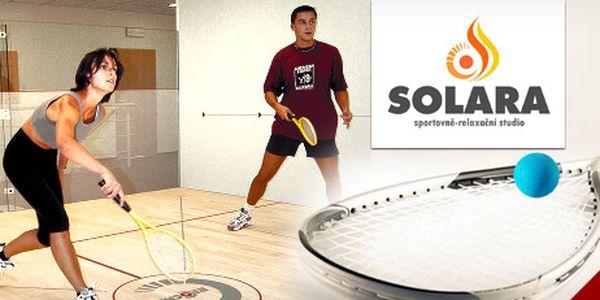 Ricochet (sport velmi podobný squashi): pronájem kurtu na 1 hodinu, 62% sleva!