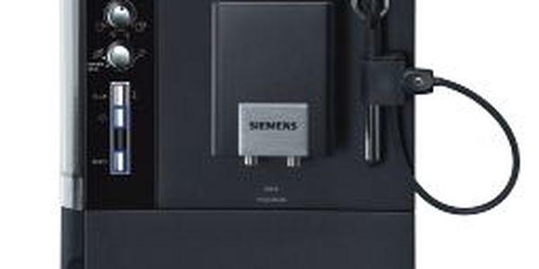 Domácí espresso Siemens TE 503209RW. Plně automatická příprava kávy a espressa stiskem tlačítka.