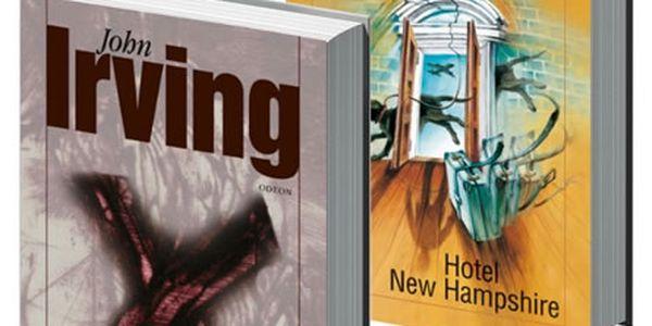 Jedním dechem! Dvě knihy Johna Irvinga. Hotel New Hampshire - 3. vydání + Poslední noc na Klikaté řece.