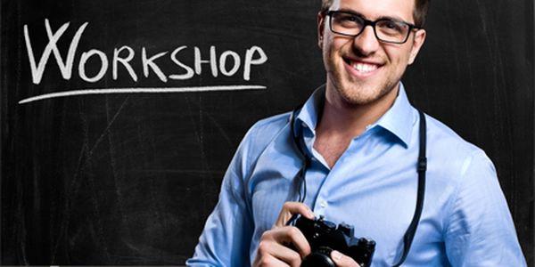 Workshop zameraný na kreatívnu - výtvarnú fotografiu v krajine od Design Academy! V cene ubytovanie s plnou penziou, odborný program kurzu, prezentácie, praktické cvičenia!