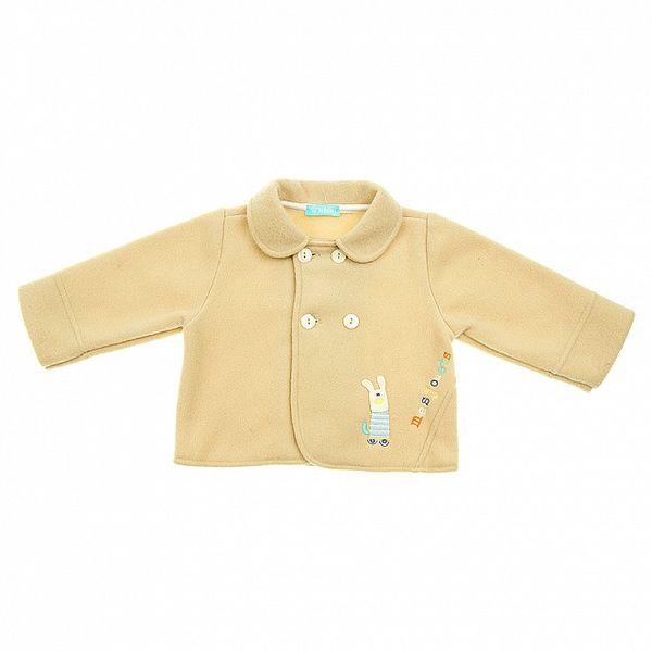 Béžový kojenecký kabátek Lullaby