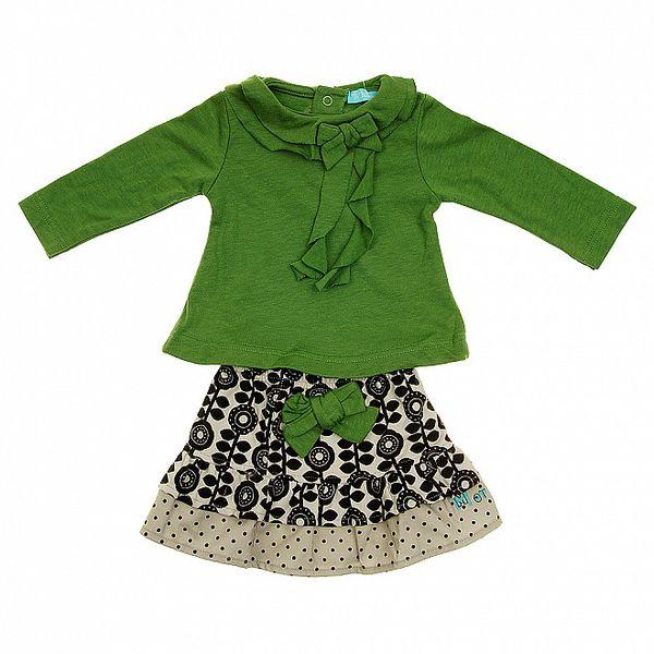 Dětská souprava Lullaby - tričko a sukýnka