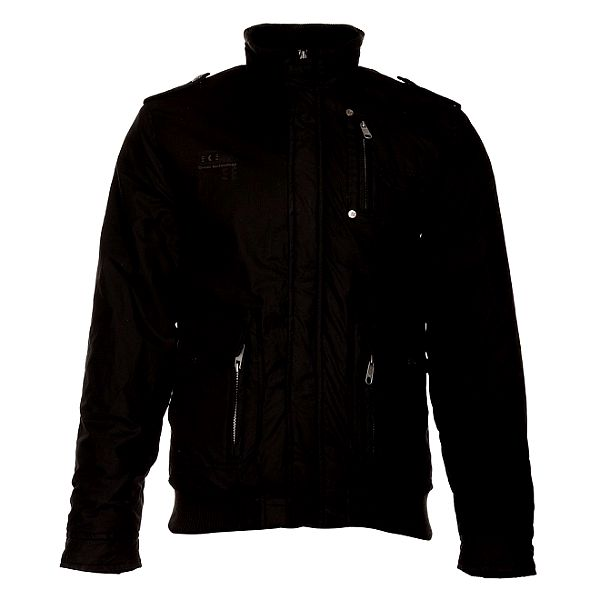 Pánska čierna zimná bunda Exe Jeans