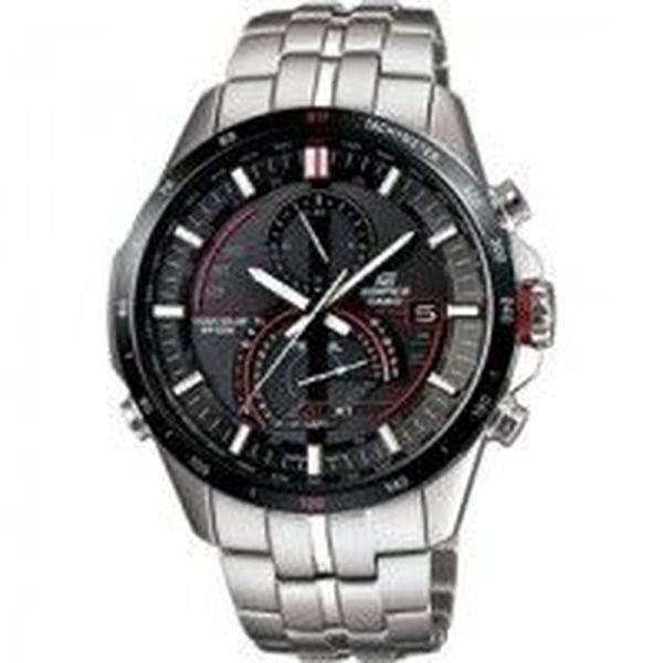 Luxusní pánské hodinky Casio EQS A500DB-1A. Minerální sklíčko. Quartz - solární napájení. Sportovní elegance.