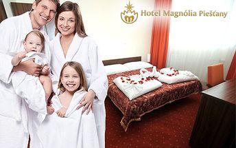 3-dňový rodinný víkendový pobyt v hoteli Magnolia****! V cene aj raňajky, večera, vstup do sauny, bazén za 1 €, divadelné predstavenia pre deti a oddych na nezaplatenie!