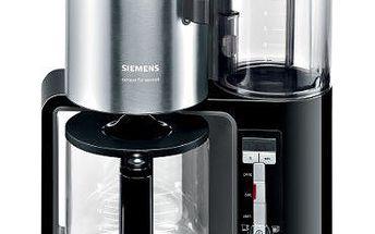 Kávovar SIEMENS TC 86303, výkon: 1160 W, kapacita 15 šálků