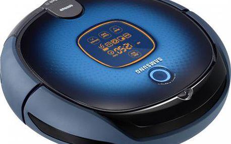 Robotický vysavač Samsung SR 8855. Vestavěná kamera pro orientaci. Účinný HEPA filtr 11.