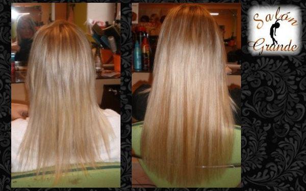 Prodloužení vlasů od 2500 Kč