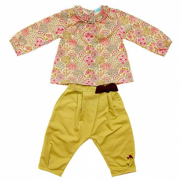 Detská súprava Lullaby - košielka a nohavice