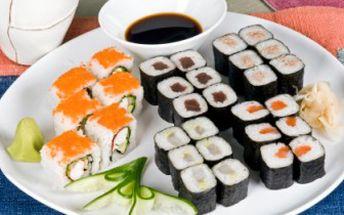 SUSHI za POLOVIC! Výběr z 9 druhů MAKI a 4 druhů URAMAKI v Restauraci a klubu Oskar v Neratovicích.