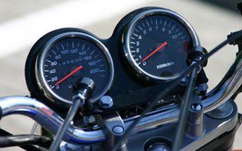 Řidičák na motorku v Liberci (skupina A bez omezení)