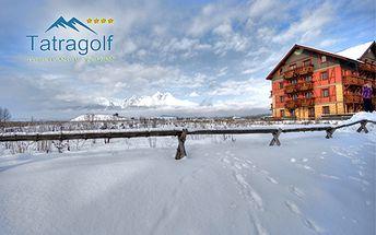 Luxusné ubytovanie v Tatragolf Mountain Resort**** pre 2, 4 alebo 6 osôb! Pri pobyte na 4 noci karta TatryCard ZDARMA! +BONUS: 20% zľava na aquaparky, 30% na skipass!