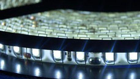 5metrový LED pásek s 600 LED diodami v barvě studené a teplé bílé, červené a modré! Unikátní dekorativní osvětlení