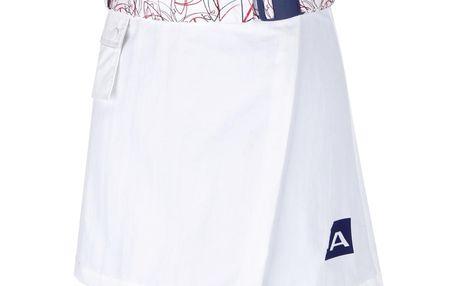 Dámská sukně Alpine Pro bílá