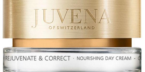 Juvena Denní krém pro normální až suchou pleť (Rejuvenate & Correct Nourishing Day Cream) 50 ml + JUVENA Kosmetická taštička písková ZDARMA