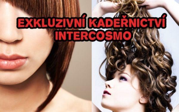 Vyhlášené kadeřnické studio INTERCOSMO na Praze 1! Střih za 149 Kč, melírovaní od 279 Kč či barvení od 249 Kč!