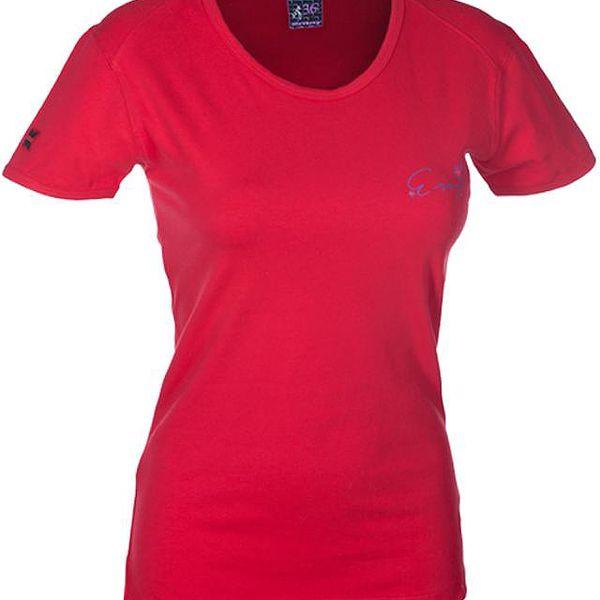 Dámské triko Envy Candle červené