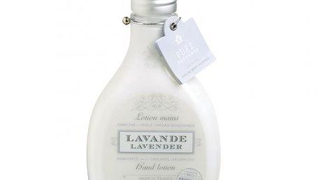 Luxusní mléko na ruce bsahuje BIO extrakt z levandule