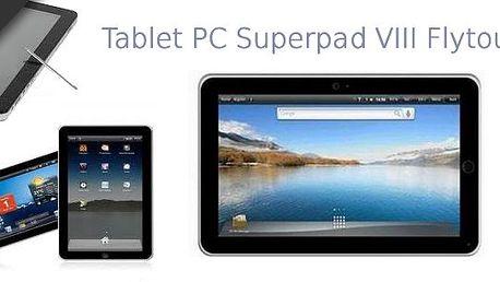 Zakoupením kuponu za 499 Kč získáváte 30% slevu na tablet Super Pad 8, 10'', kompatibilní s Android 4.0.4!! Využijte této skvělé akce, která se nebude opakovat!!