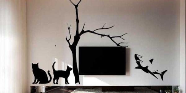 JEDINEČNÉ SAMOLEPÍCÍ DEKORACE nejen na stěnu VČETNĚ POŠTOVNÉHO za skvělých 259 Kč! Zkrášlete si svůj domov a dodejte Vašemu interiéru moderní vzhled! Vybírejte z 15 různých motivů! Sleva 65%!