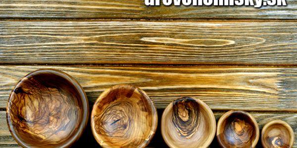 50% zľava na všetky drevené misky z exotických, ovocných a úžitkových drevín a drevené vázy z e-shopu www.drevenemisky.sk