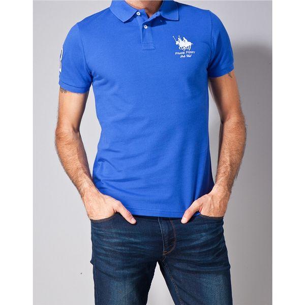 Pánské polo triko Frank Ferry modré