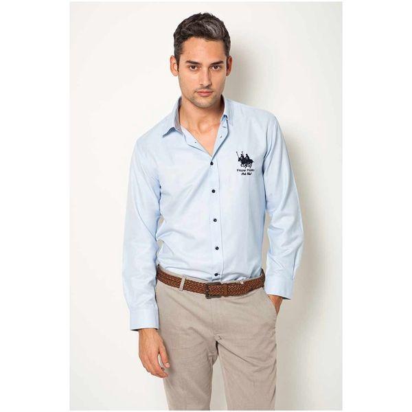 Pánská košile Frank Ferry světle modrá