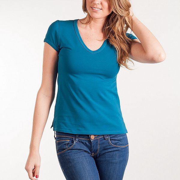 Dámske tyrkysové tričko Calvin Klein