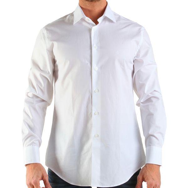 Pánská košile Calvin Klein bílá