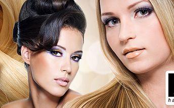 Aplikace Vámi přinesených vlasů - 100 pramenů jen za 750 Kč!