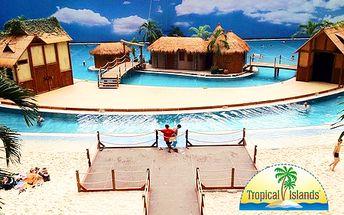 Užite si rozprávkových 200 metrov piesočnatej pláže, vodný svet s lagúnou ostrova Bali a najväčší indoorový dažďový prales na svete! V cene doprava aj sprievodca!