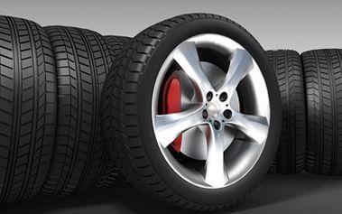 Kompletní přezutí pneumatik Vašeho Vozu za super cenu 289 Kč + jako bonus možnost uskladnění Vašich pneumatik se slevou 50%.